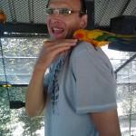 Попугай кусака в Park Paradise